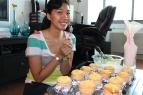 sunshine, my cake tester :)